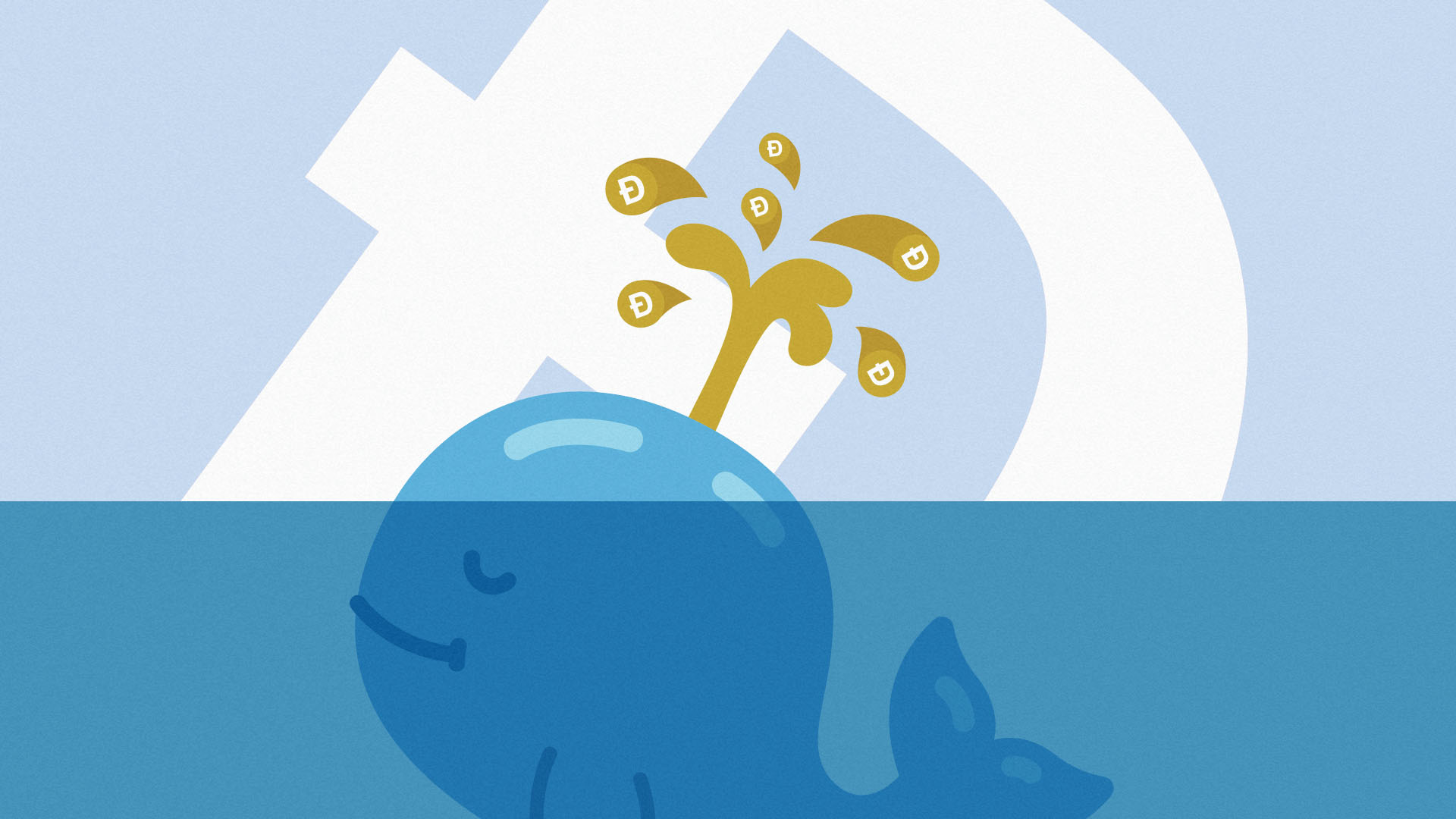 This is a Dogecoin whale happily squirting DOGE all over the world.