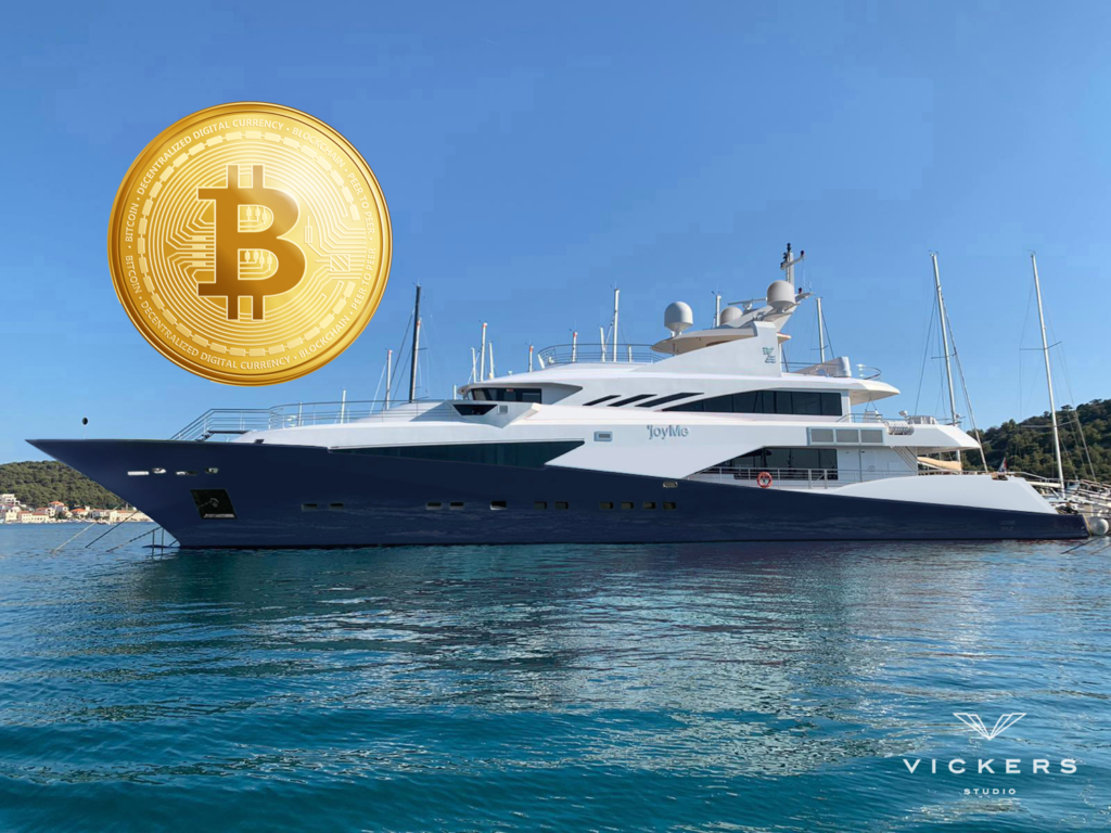 This superyacht could be sold for Bitcoin.